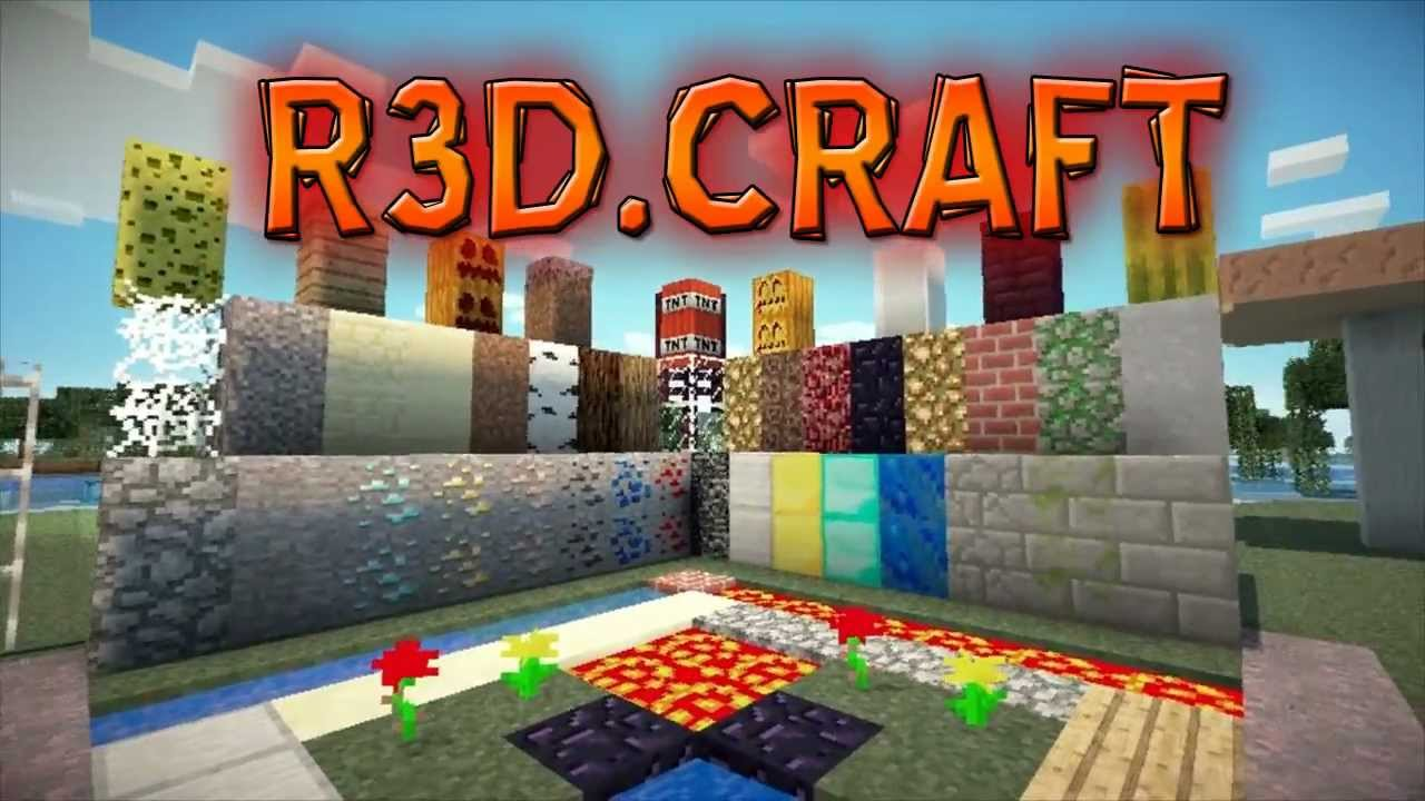 crafting and building texture packs